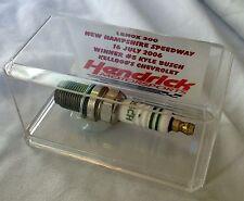 KYLE BUSCH Race-Used Spark Plug, 2006 Lenox Tools 300 Win, New Hampshire, COA