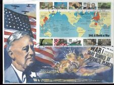 "Hand Painted PEARL HARBOR Cover #2559 First Day of Issue "" Oahu Bombed... """