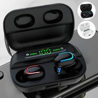 TWS IPX7 Écouteurs sans fil Casque Bluetooth 5.0 Mini écouteurs Écouteurs sté DE