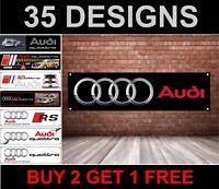 Audi Officina, Garage, Ufficio o Concessionario PVC Banner