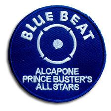Blue Beat Patch Iron on Music Ska Reggae Street Punk Skinhead Prince Buster Sew