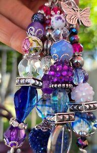 Custom handbag jewelry CHARM purse Keychain crystal sparklead MK,COACH,DB
