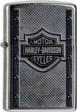 Zippo Harley Davidson Lighter Lighter Benzin Sturm Feuerzeug