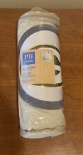 NWT Pottery Barn PB Teen Green Bay Packers NFL Patch Case Standard Pillow Cover