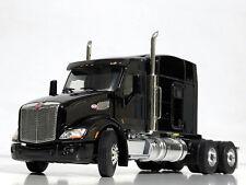 WSI TRUCK MODELS,PETERBILT 579 6x4 BLACK, SINGLE TRUCK,1:50