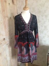 Vintage 60s/70s Style Next Black And Red Dress