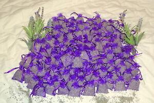 Lavender organza bags, Provence Lavender relaxing,calming, Moth repellent 7x5 cm