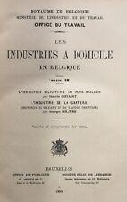 1900 BELGIQUE Industrie cloutière - Ganterie (Wallonie-Brabant-Flandre)
