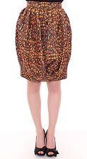 NWT $960 Kaal E Suktae Bubble Baloon Bee Print Above Knee Skirt s. IT40 /US6 / S