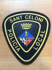 PATCH POLICE SPAIN SANT CELONI ( CATALONIA Province BARCELONA ) ORIGINAL!