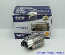 PANASONIC NV-GS230 CAMCORDER BOXED 3CCD MINI DV DIGITAL TAPE VIDEO CAMERA