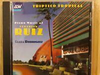 Clara Rodriguez & Federico Ruiz -Klaviermusik / Triptico Tropical- CD