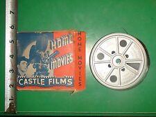 JC779 Vintage Castle Films Home Movie in Original Box 815 High Flyers 16mm