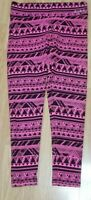 New With Tags PINK by Victoria's Secret Pink & Black Yoga Legging Pants  Medium