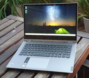 "Lenovo IdeaPad 14"" 2X1 touchscreen Laptop Pentium Gold - 8 GB - 128 GB SSD Win10"