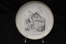 Bing & Grondahl Copenhagen LILLE og STORE CLAUS Plate #8 Hans Christian Andersen