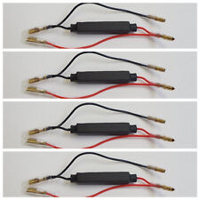 RC21 4 RESISTENZE per FRECCE a LED da 21 WATT 10 Ω per KAWASAKI Ninja 636 ZX 6R