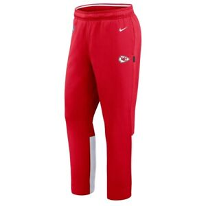 New 2021 Kansas City Chiefs Nike Sideline Woven Performance Therma-FIT Pants NWT