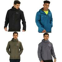 Regatta Mens Tarnel Waterproof Breathable Hooded Jacket