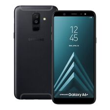 "SAMSUNG GALAXY A6+ PLUS A605GN/SS BLACK 32GB SINGLE SIM 6"" FACTORY UNLOCKED"
