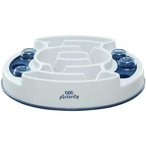Trixie Dog Activity Slide & Feed Strategy Game, Interactive Treat Dispensing Toy