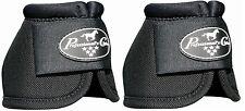 Black Professional's Choice Ballistic Bell Boots M Medium Pro Prof