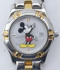 Women's Dress Formal Mickey Mouse Watch The Disney Store DS-1239 Japan