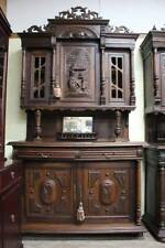 Oak French Country Original Antique Cabinets & Cupboards