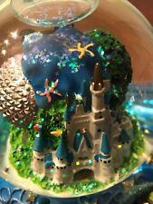 Music Box Musical Snow Globe Disney World 2000 Collectible Wdw Mickey Donald