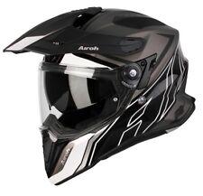 Motorcycle Helmet Motard Enduro Off Road Airoh Commander Carbon Duo Matte Black