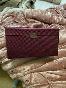 Pink make up box in excellent condition