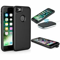 Qi Wireless Charging Receiver Case Coque Batterie Housse Etui Pour iPhone 7 Plus