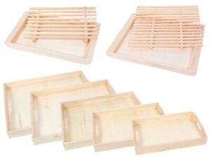 Holz-Tablett Deko-Tablett Kerzen-Tablett Tisch-Deko Esszimmer-Deko