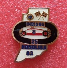 Pins LIONS CLUB Lioness HONOLULU 83 INDIANA Race Car Grand Prix International