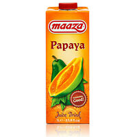 Maaza - Premium Papaya Drink in 1 Liter Packung - Original Papaya Saft
