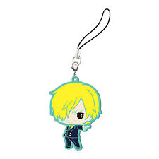 One Piece Sanji Rubber Phone Strap NEW