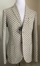NWT $2295 Giorgio Armani Mens Sport Coat Jacket Blazer LT Gray 36 US/46 Eu Italy