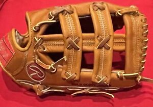 "Rawlings USA Heart of Hide RARE ""HOH"" 50DC ROBIN YOUNT Model Baseball Glove Mitt"