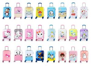 Disney Travel Hard Shell Suitcase Cabin Luggage Kids Childrens Trolley Bag