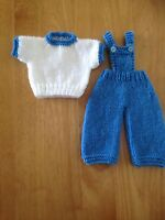 hand knitted dolls clothes to fit 14 inch doll