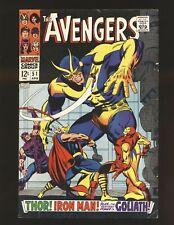 Avengers # 51 VG/Fine Cond.