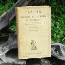 Platon Complete Works the Republic Tome IV 1950
