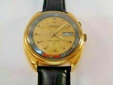 Watch Seiko Bellmatic Alarm Mens Watch Automatic 4006 Gold Plated
