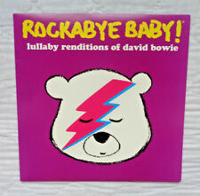 Rockabye Baby! Lullaby Renditions Of David Bowie lp, ULTRA RARE, WHITE WAX, NM!