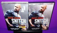 Snitch (DVD, 2013) No Digital Dwayne Johnson B572