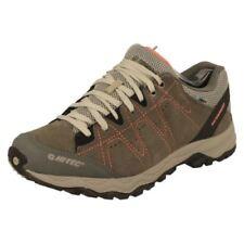 Zapatillas deportivas de mujer grises de piel, talla 40