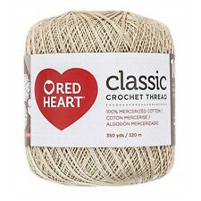 Red Heart Classic Crochet Thread Size 10-natural