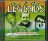 Rock 'n' Roll Legends [CD, 2004] Buddy Holly, The Drifters, Jerry Lee Lewis