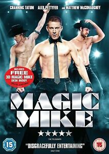 Magic Mike DVD (2012) Matthew McConaughey, Channing Tatum - Immediate Dispatch