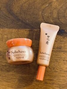 Sulwhasoo Concentrated Ginseng Renewing Cream EX + Eye Cream US Seller See Desc.